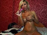 bigboob blonde webcam masturbation show