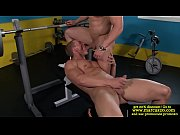 Straight guy open mouth filled with cock