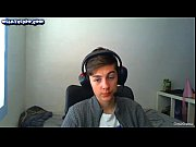 danish 18 yo teen boy with headset &amp_.
