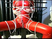 lovely slave girl is tied up.