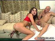 Hot threesome with one cock eager brunett ...