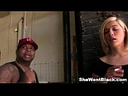 Cute Blonde Lia Lor fucked by Black Cock