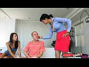 janice griffith and dana vespoli threesome on the couch