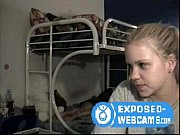 Cute Blonde Strips &amp_ Plays &amp_ She&#039_s Not Alone- Exposed-Webcams.com