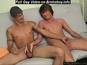 Straight boy gets a load out of his buddy	Gay Sex Video