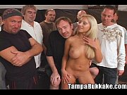 Jasmine Tame Comes by for a Tampa Bukkake Gang Bang Party