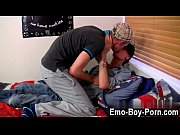 Gay XXX Horny chav youngster Leo Foxx has no time to waste when he