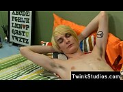gay jocks preston andrews dozes off while getting.