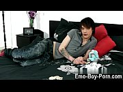 sexy gay hot emo twink lewis romeo gets.