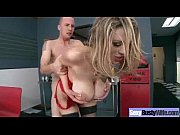 Hardcore Sex Tape With Round Big Tits Horny Wife movie-21