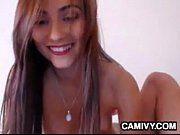 hot cam girl with a creamy.