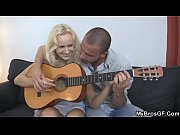 czech blonde is lured into sex with bf&#039_s bro