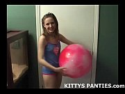 cute teen football girl kitty wants.