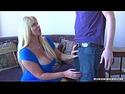 Huge-Titted Blonde Strokes...