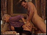 Mature blonde fucks her man -