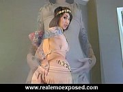 Tattooed Eve's Slow Cherokee Striptease view on xvideos.com tube online.