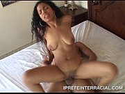 mika brown takes a white cock in her ass