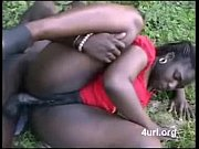 African girl fucking outdoor