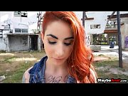 Redhead rocker chick assfucked in the ghetto Sheena Rose 1