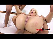 kyra blonde first anal with 2.