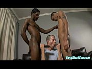 BlacksOnBoys - Nasty Gay Bareback Interracial Porn Movie 02