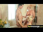 husband cheats with masseuse in room!.