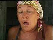 Old woman have sexual intercourse in the farm of shame | Porn-Update.com