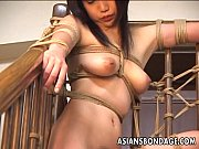 Ravishing Japanese chick tied