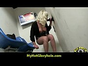 amazing interracial glory hole blowjob and.