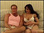 horny brunete getting fucked by  a big.