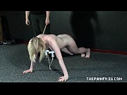 Satines Lesbian Punishment and Humiliating Workout Spanking