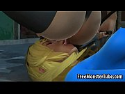 Two sexy 3D cartoon super hero babes dyke it outomanandsoopergirl1-high_2