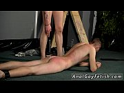 Gay fuck Aiden is feeble as Adam gets his butt in his face and