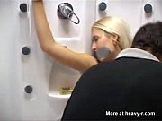 blonde bitch gets bondage and fucked