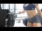 Eva Andressa Super SEXY Workout - Leg Press