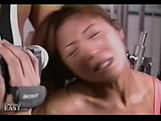 uncensored japanese erotic fetish sex - gym bondage.