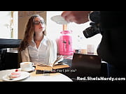 She Is Nerdy - Nerdy redtube photo-lover xvideos gets teen-porn fucked cum-shot