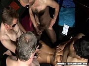 Picture Doggy gang - British amateur girls gangbang...
