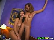Brazilian Teen Girls In A Threesome