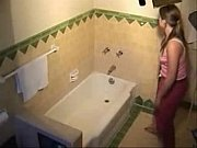 hot masturbation girlfriend in bathroom hidden.