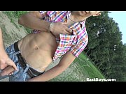 Public Park – Handjob and Pissing