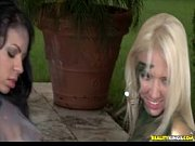 Cammo Coochies With Dylan, Molly, Natalie and Elena - We Live Together view on xvideos.com tube online.