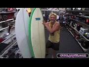 russian surfer in the pawnshop