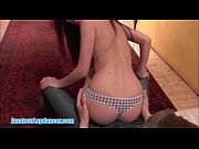 Asian hottie does a sexy lapdance then li ...