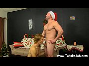 Hardcore gay Patrick Kennedy catches hunky muscle guy Santa