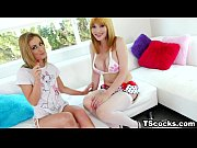 sheena shaw and eva lin play with a dick