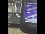 tight little ass walking on the treadmill