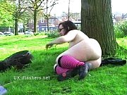 outdoor flashing and public masturbation of fat bbw.