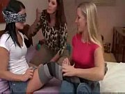 two sexy women show a hot college girl how to loosen up 2