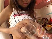 busty tan japanese schoolgirl big breast.